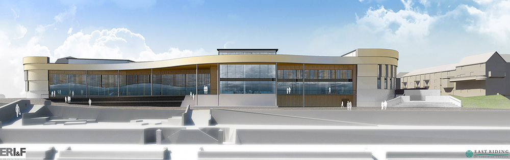 Bridlington Leisure World consultation - Rear aspect